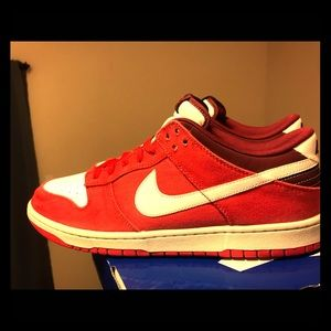 Nike dunk low red size 13 sb dunk low